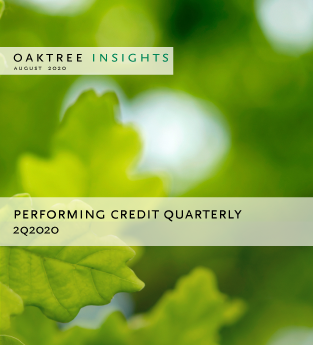 Performing Credit Quarterly 2Q2020
