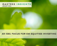 An ESG Focus for EM Equities Investing