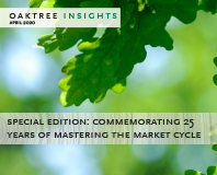 Commemorating 25 Years of Mastering the Market Cycle