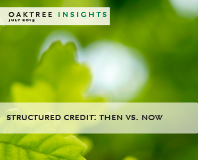 Structured Credit: Then vs. Now